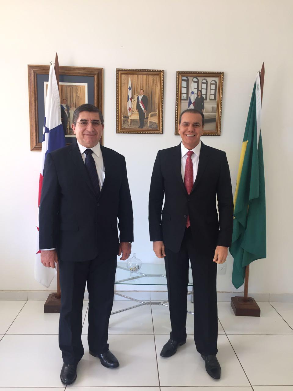 visita de senador Ataides Oliveira - 01-08-16 - 2